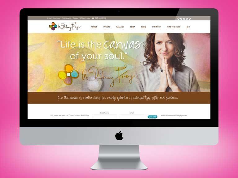 Witney Freya Website