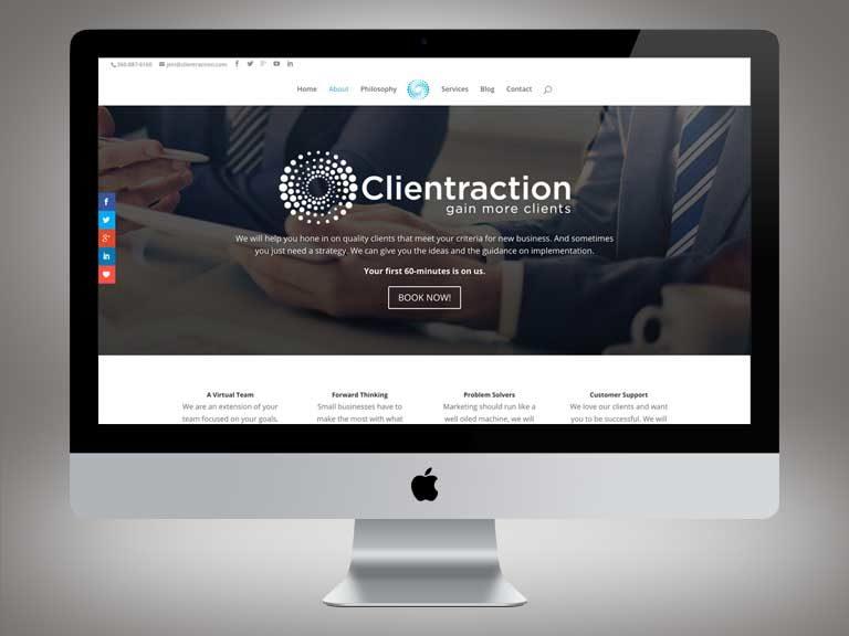 Clientraction Website
