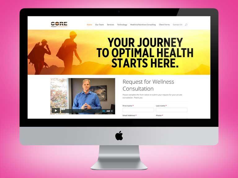 Core Health Website