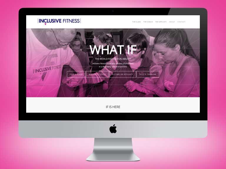 Inclusive Fitness Website