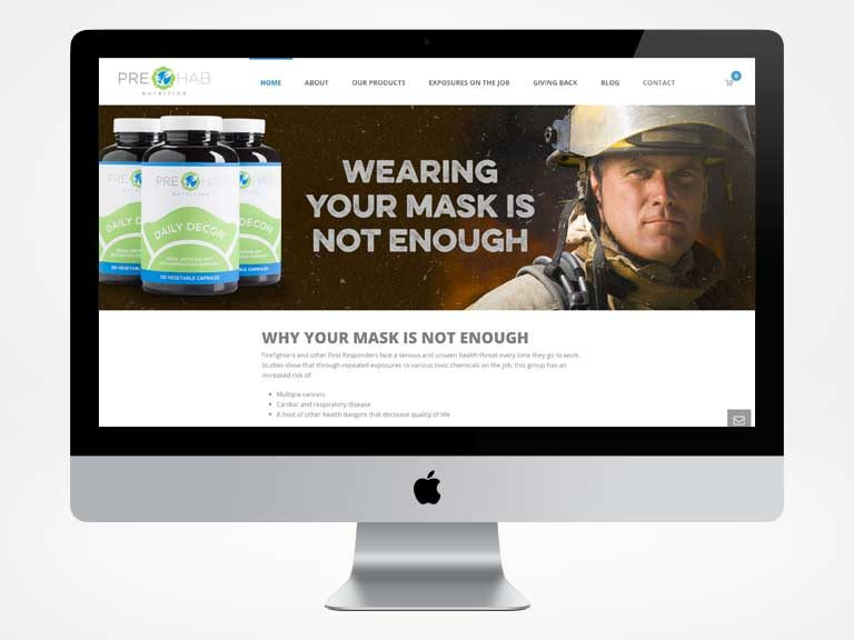 PreHab Nutrion Website