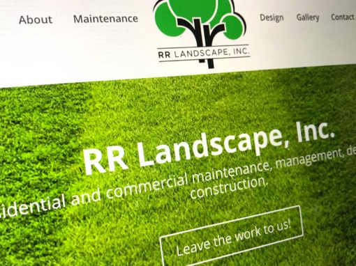 RR Landscape Inc. Website
